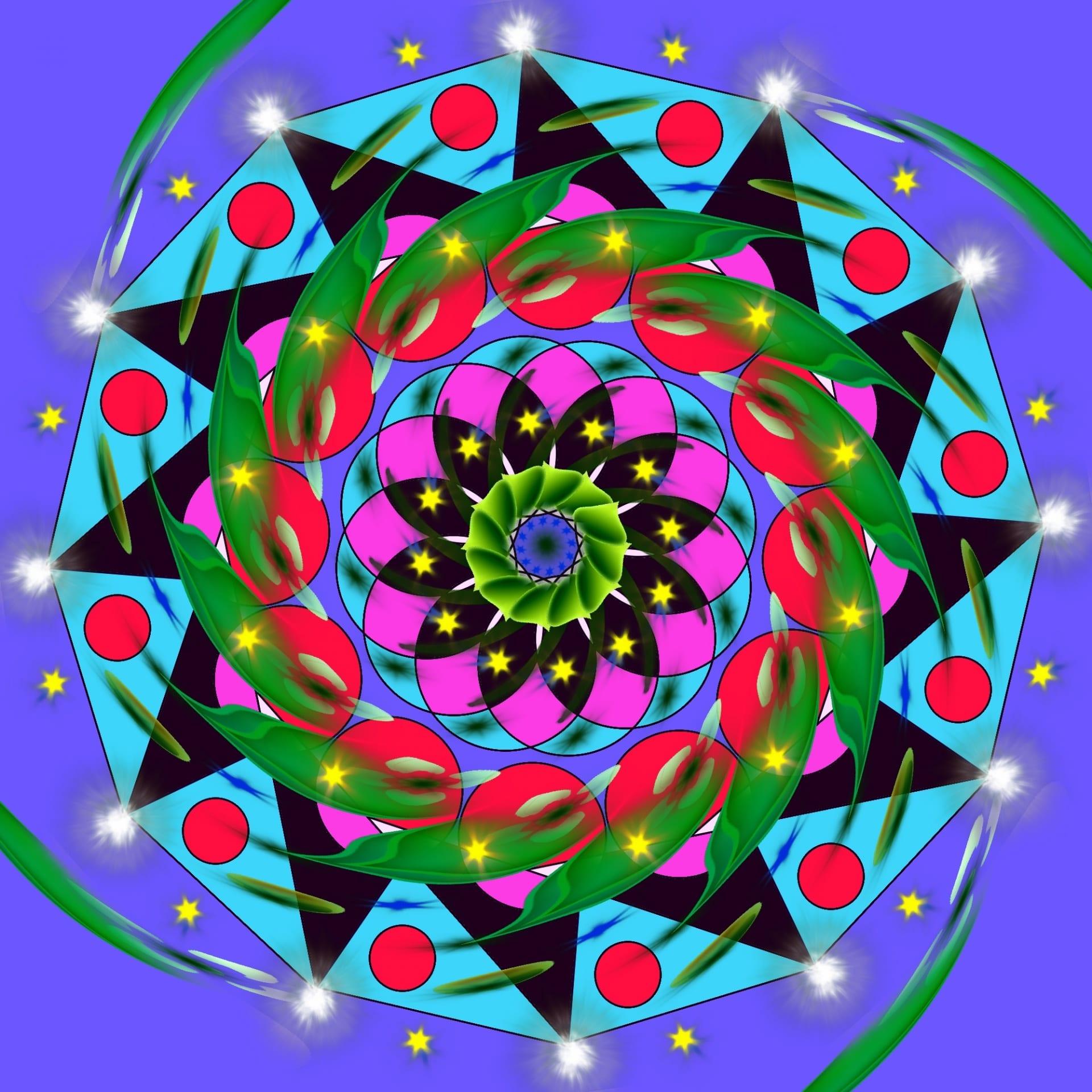 Mandalas: Guía Fácil con Imágenes para Colorear, Pintar, Tejer y Crear 5