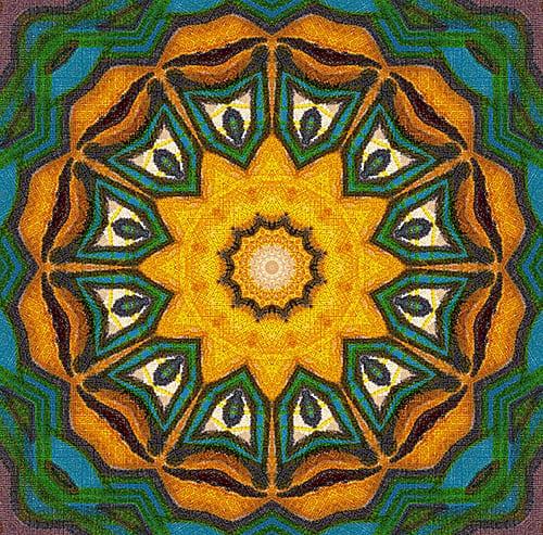 Mandalas: Guía Fácil con Imágenes para Colorear, Pintar, Tejer y Crear 1