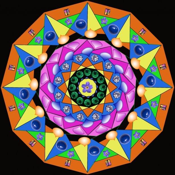 Mandalas: Guía Fácil con Imágenes para Colorear, Pintar, Tejer y Crear 2