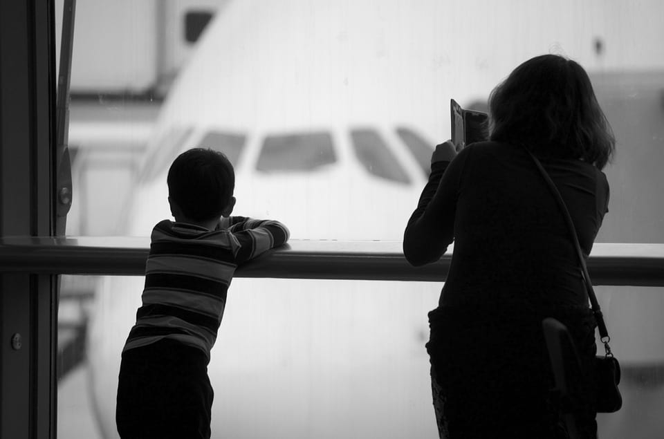 Guía práctica para viajar con niños en avión 2